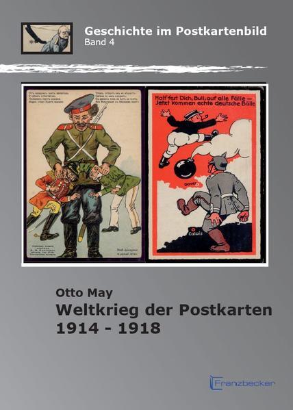 Weltkrieg der Postkarten 1914 -1918 - Coverbild