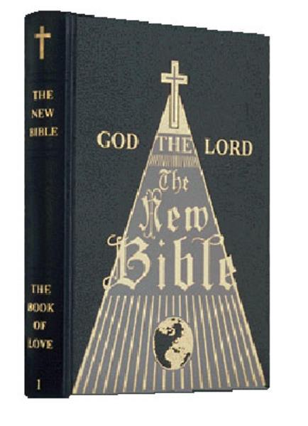 Die Neue Bibel / The New Bible / Volume 1: The Book of Love - Coverbild