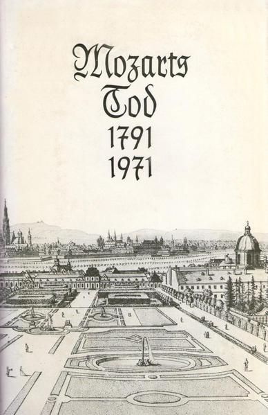 Mozarts Tod 1791-1971 - Coverbild
