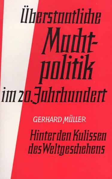 Überstaatliche Machtpolitik im 20. Jahrhundert - Coverbild