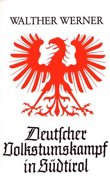 Deutscher Volkstumkampf in Südtirol - Coverbild