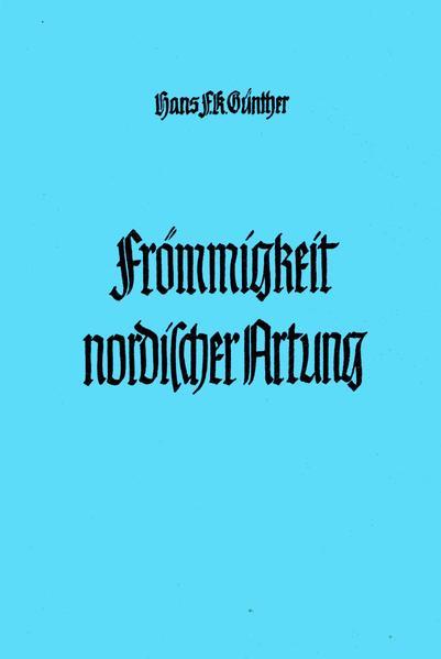 Frömmigkeit nordischer Artung - Coverbild