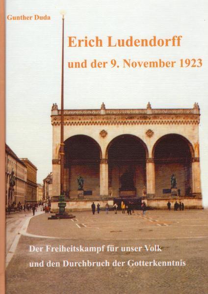 Erich Ludendorff und der 9. November 1923 - Coverbild