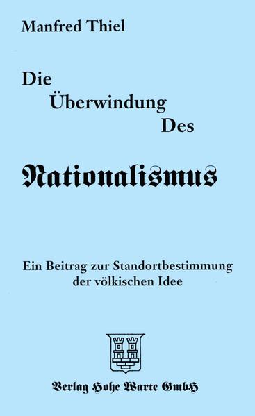 Die Überwindung des Nationalismus - Coverbild