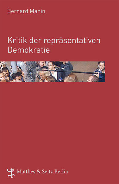 Kritik der repräsentativen Demokratie - Coverbild