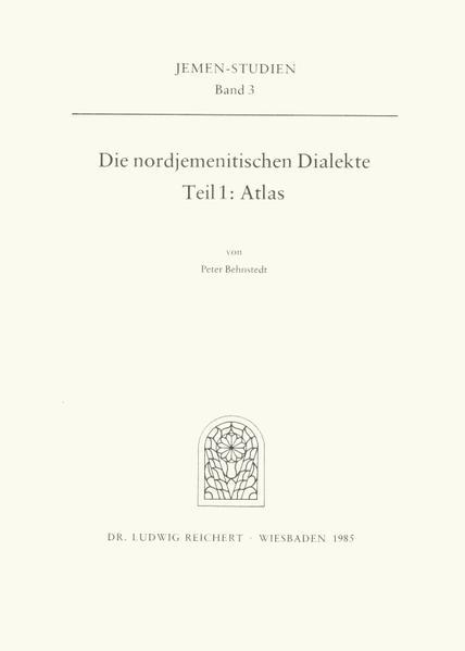 Die nordjemenitischen Dialekte (Atlas) - Coverbild