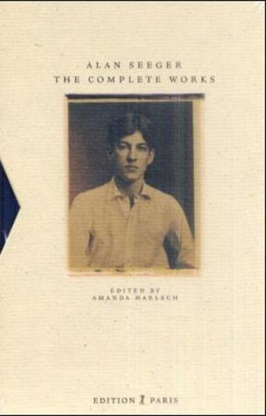 Alan Seeger - The complete works - Coverbild