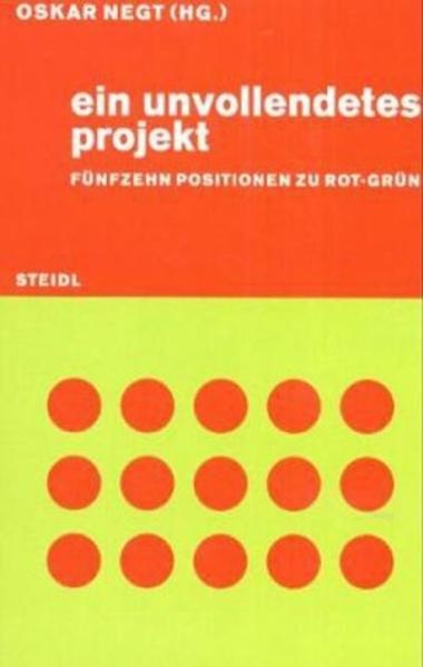 Ein unvollendetes Projekt - Coverbild