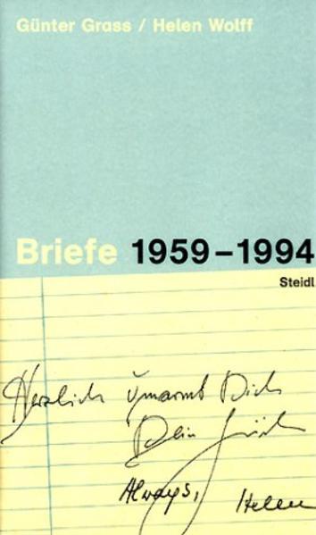 Briefe 1959-1994 - Coverbild