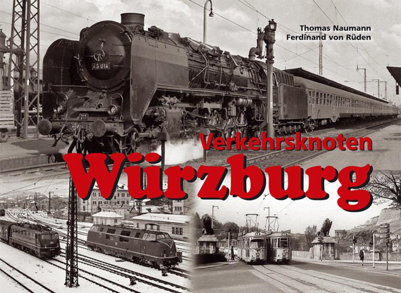 Verkehrsknoten Würzburg - Coverbild
