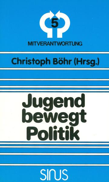 Jugend bewegt Politik - Coverbild