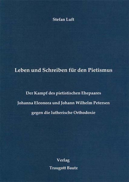 Leben und Schreiben für den Pietismus - Coverbild