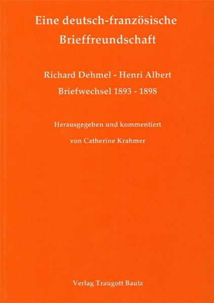 Eine deutsch-französische Brieffreundschaft - Coverbild