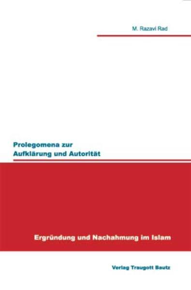 Prolegomena zur Aufklärung und Autorität - Coverbild