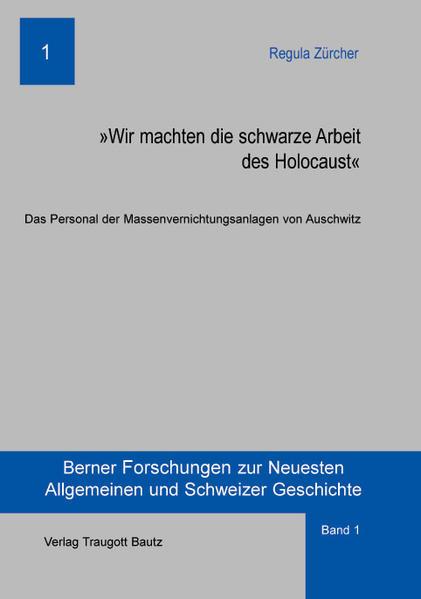 Kostenloser Download Wir machten die schwarze Arbeit des Holocaust PDF