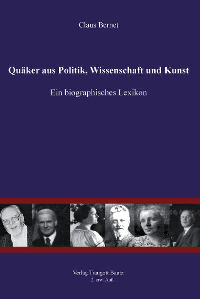 Quäker aus Politik, Wissenschaft und Kunst - Coverbild