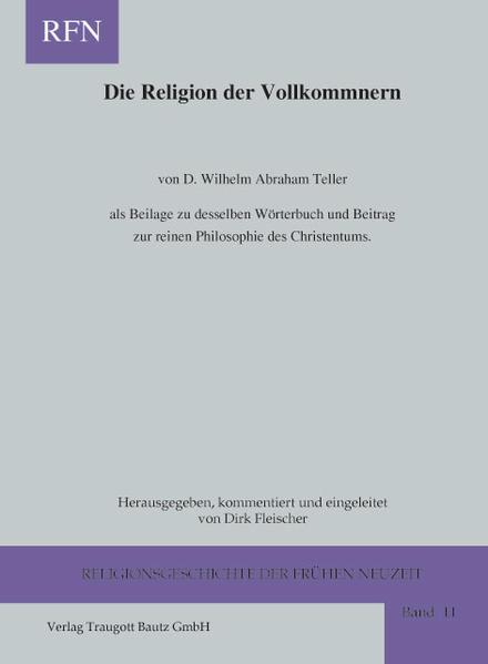 D. Wilhelm Abraham Teller - Coverbild