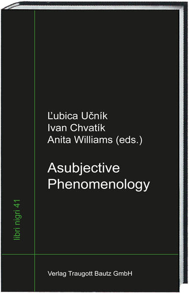 Asubjective Phenomenology - Coverbild
