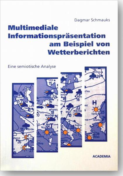 Multimediale Informationsrepräsentation am Beispiel von Wetterberichten - Coverbild