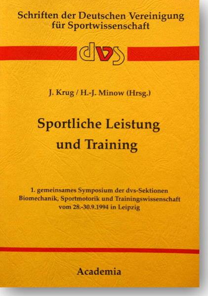 Sportliche Leistung und Training - Coverbild