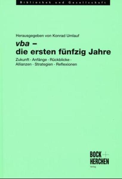 vba - die ersten fünfzig Jahre - Coverbild