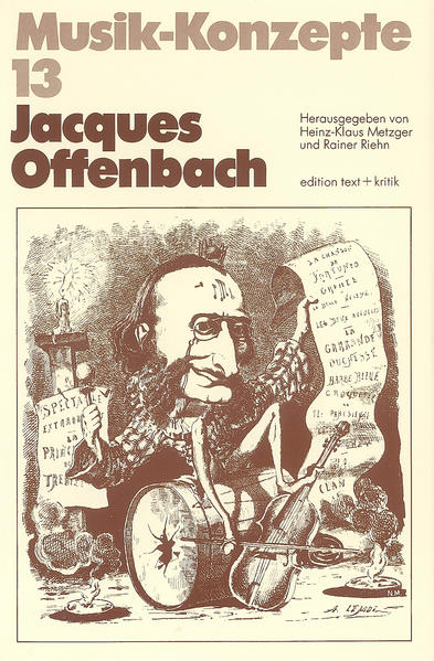 Jacques Offenbach - Coverbild