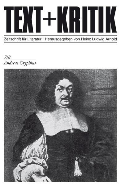 Andreas Gryphius - Coverbild