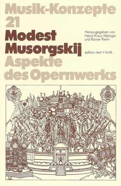 Modest Musorgskij - Coverbild