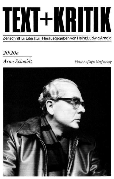 Arno Schmidt - Coverbild