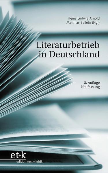 Literaturbetrieb in Deutschland - Coverbild