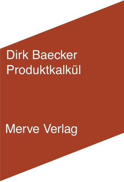 Organisationskalkül - Coverbild