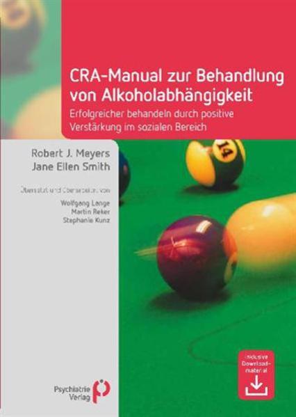 CRA-Manual zur Behandlung von Alkoholabhängigkeit - Coverbild