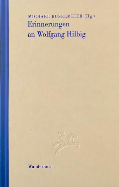 Erinnerungen an Wolfgang Hilbig - Coverbild