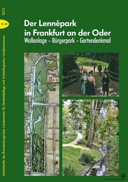 Der Lennépark in Frankfurt an der Oder - Coverbild