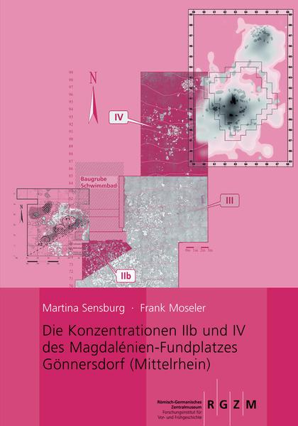 Die Konzentrationen IIb und IV des Magdalénien-Fundplatzes Gönnersdorf (Mittelrhein) - Coverbild