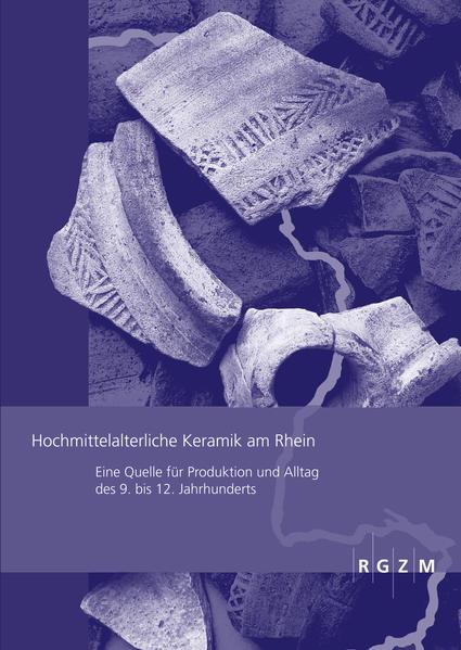 Hochmittelalterliche Keramik am Rhein - Coverbild