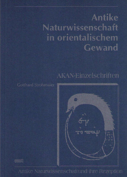 Antike Naturwissenschaft in orientalischem Gewand - Coverbild