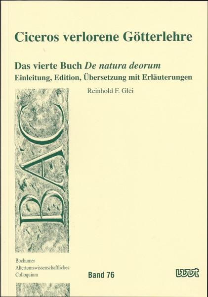 Ciceros verlorene Götterlehre PDF Herunterladen