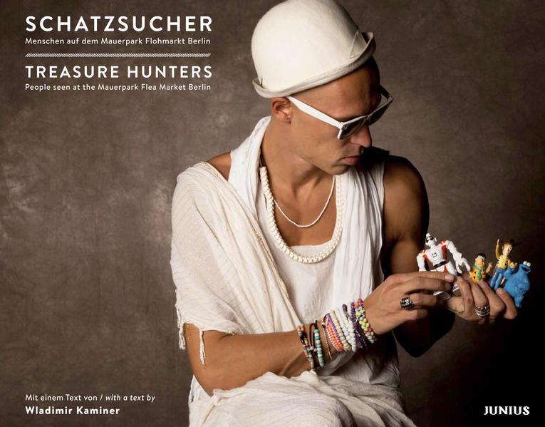 Schatzsucher - Menschen auf dem Mauerpark Flohmarkt Berlin - Coverbild