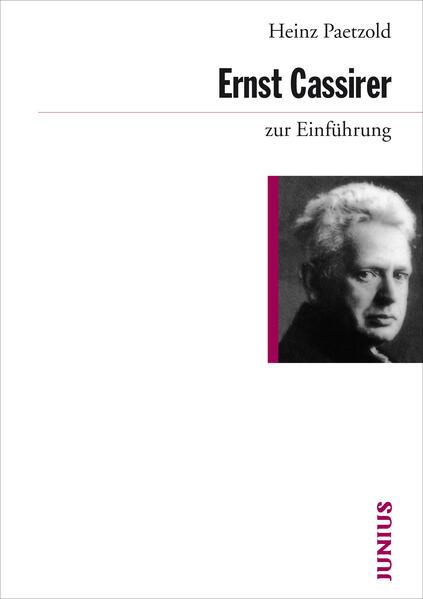 Ernst Cassirer zur Einführung - Coverbild