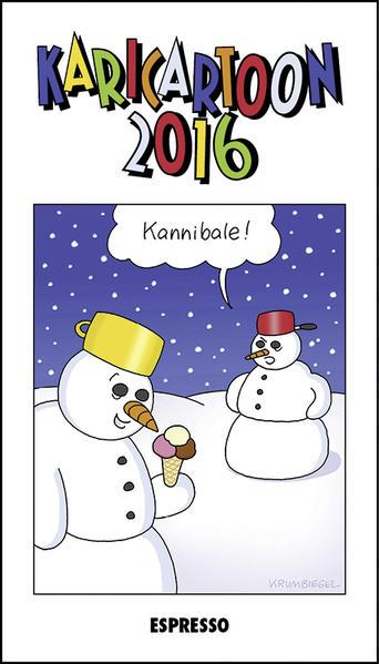 Karicartoon 2016 - Coverbild