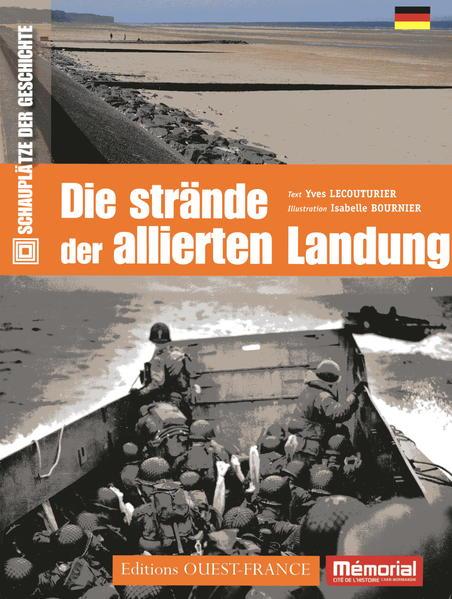 Die Strände der alliierten Landung - Coverbild