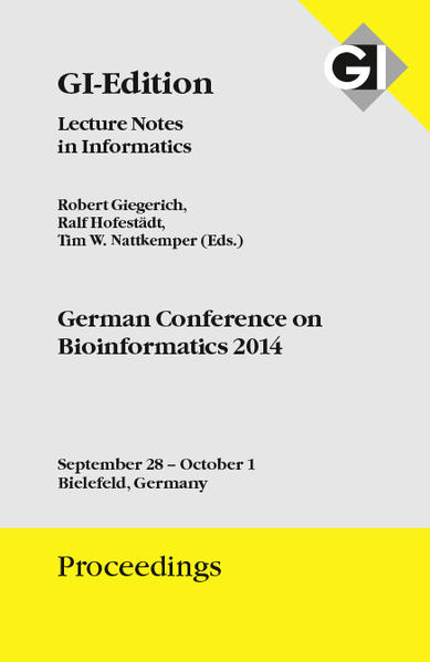 GI Edition Proceedings Band 235 - German Conference on Bioinformatics 2014 - Coverbild