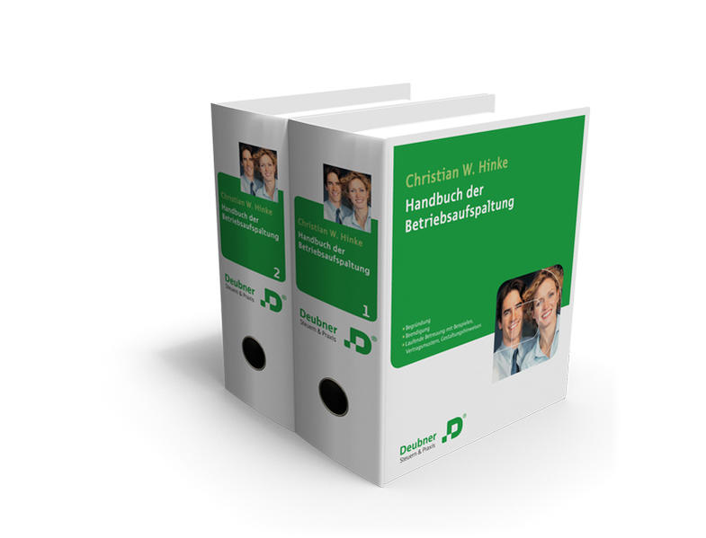 Handbuch der Betriebsaufspaltung - Coverbild