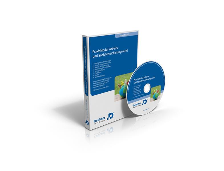 Praxismodul Arbeits- und Sozialversicherungsrecht - Coverbild