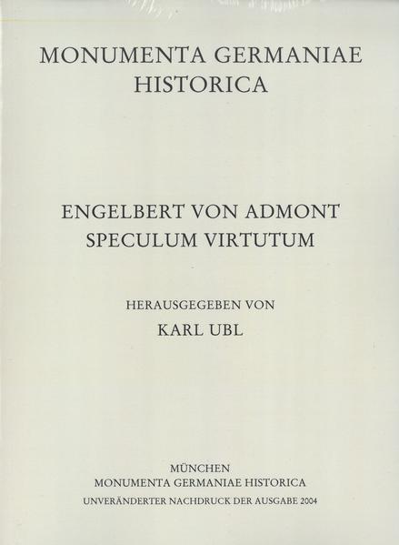 Engelbert von Admont, Speculum virtutum - Coverbild