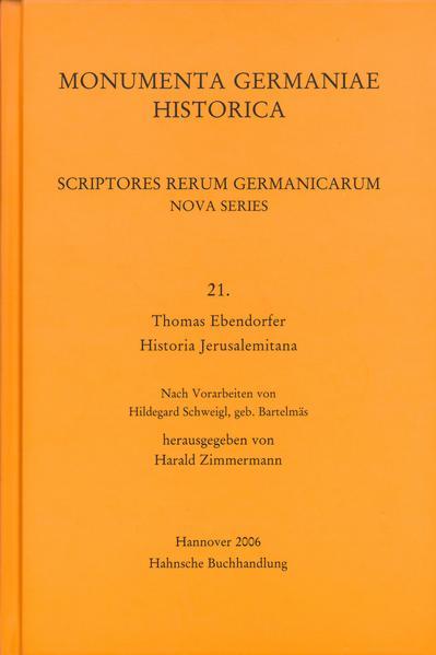 Thomas Ebendorfer, Historia Jerusalemitana - Coverbild