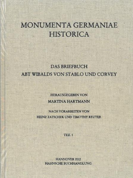Das Briefbuch Abt Wibalds von Stablo und Corvey - Coverbild