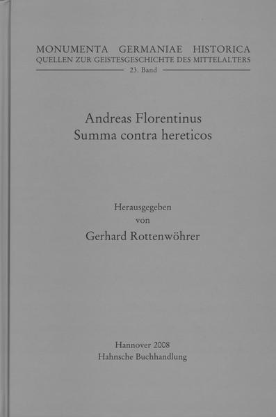 Andreas Florentinus, Summa contra hereticos - Coverbild