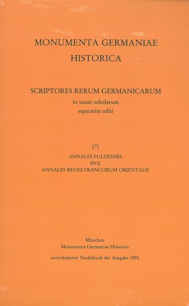 Annales Fuldenses sive Annales regni Francorum orientalis - Coverbild